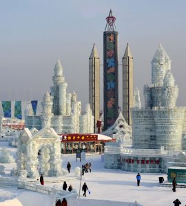 Visit Harbin, China for the Annual Ice Festival