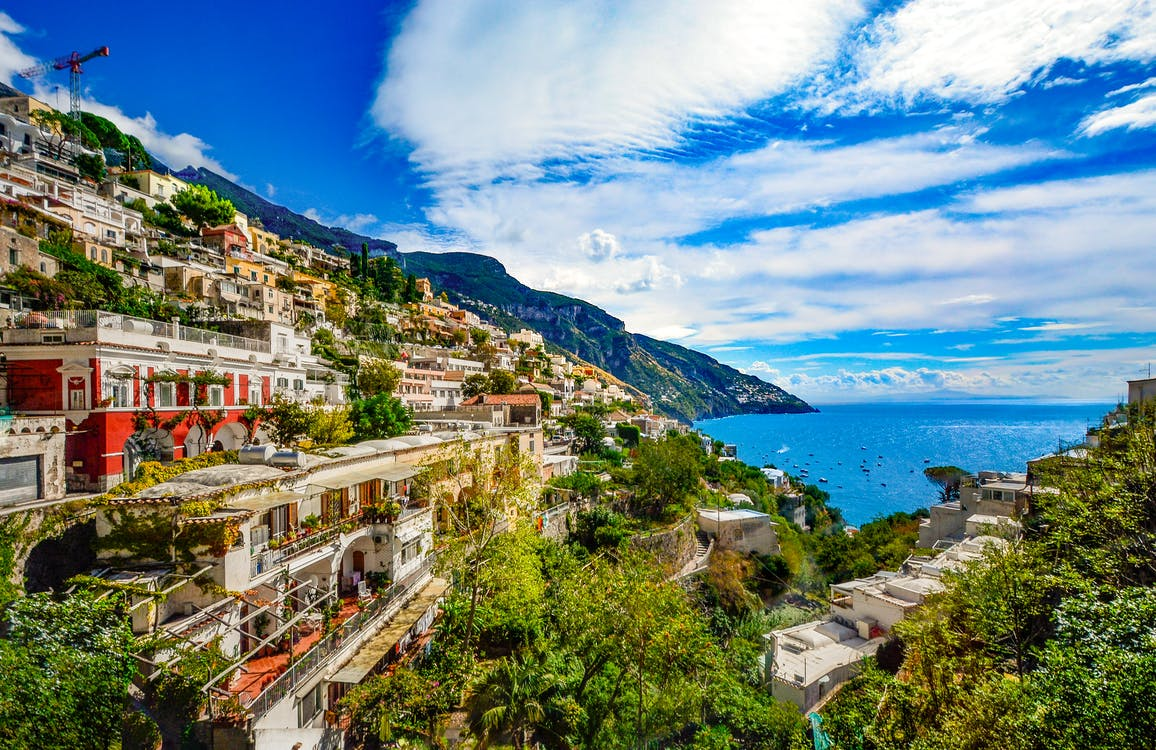 Amalfi Coast - most romantic destinations on earth